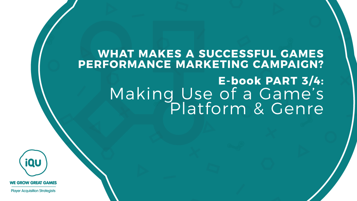 Game types and genres are important factors behind the success of games performance marketing campaigns